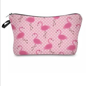 Accessories - Pink Flamingo Makeup Bag